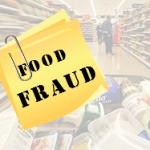 food fraud sign
