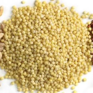 uncooked millet