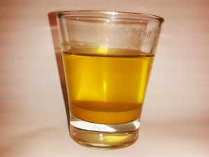 turmeric in water