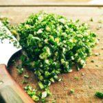 gremolata parsley and lemon zest