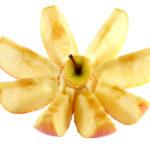 cut apple turned brown