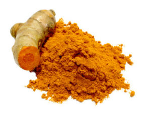 turmeric rhizome and powder
