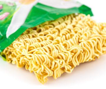 packet of ramen noodles