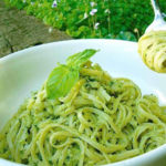 avocado sauce or pesto